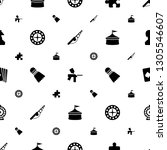 leisure icons pattern seamless... | Shutterstock .eps vector #1305546607