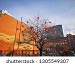manchester  uk   april 21  2016 ...   Shutterstock . vector #1305549307