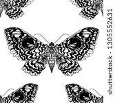 beautiful hand drawn vector... | Shutterstock .eps vector #1305552631