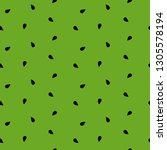 seamless watermelon pattern... | Shutterstock .eps vector #1305578194