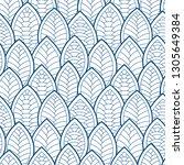 seamless abstract pattern.... | Shutterstock .eps vector #1305649384