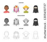 vector illustration of imitator ... | Shutterstock .eps vector #1305650737