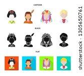 vector illustration of imitator ... | Shutterstock .eps vector #1305650761