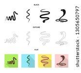 vector design of mammal and...   Shutterstock .eps vector #1305650797