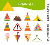 materials for kids learning... | Shutterstock .eps vector #1305653461