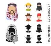 vector illustration of imitator ... | Shutterstock .eps vector #1305653737