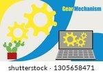 gear mechanical illustration...