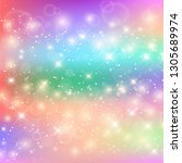 bright pattern in princess...   Shutterstock .eps vector #1305689974