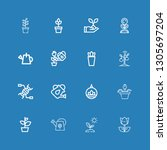editable 16 stem icons for web...   Shutterstock .eps vector #1305697204