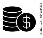 pile of money icon design with...