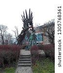 krakow  poland   29.03.18 ...   Shutterstock . vector #1305768361