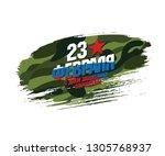 greeting card. translation... | Shutterstock .eps vector #1305768937