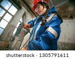 destroying gender stereotypes.... | Shutterstock . vector #1305791611
