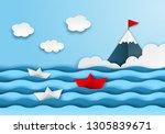 business leadership  financial... | Shutterstock .eps vector #1305839671