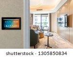 smart home with screen | Shutterstock . vector #1305850834