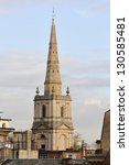 Spire Of  Christchurch With St...