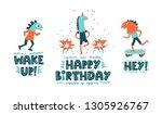 handwritten modern lettering... | Shutterstock .eps vector #1305926767