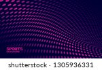 abstract futuristic background. ...   Shutterstock .eps vector #1305936331