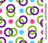 seamless pattern of...   Shutterstock .eps vector #1305992584