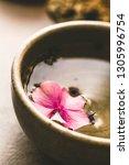 spa natural concept. dayspa... | Shutterstock . vector #1305996754