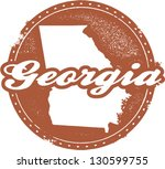 america,atlanta,augusta,distressed,georgia,map,outline,peach,rubber stamp,savannah georgia,southeast us map,state,tourism,travel,united states