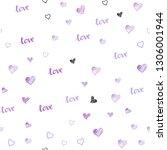 light purple vector seamless... | Shutterstock .eps vector #1306001944