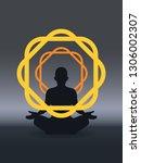 yoga  zen  cognition  buccaneer ...   Shutterstock .eps vector #1306002307