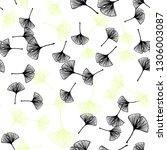 light green  yellow vector... | Shutterstock .eps vector #1306003087