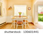 white old small kitchen... | Shutterstock . vector #130601441
