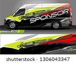 car graphic background vector.... | Shutterstock .eps vector #1306043347