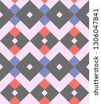argyle for seamless printing | Shutterstock .eps vector #1306047841