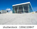 oslo opera house is the home of ... | Shutterstock . vector #1306110847