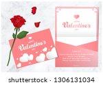 happy valentine day   Shutterstock .eps vector #1306131034