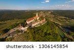 aerial view of leuchtenburg... | Shutterstock . vector #1306145854