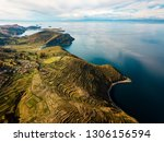 "aerial of ""isla del sol"" and... 