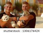 true joy of just being around.... | Shutterstock . vector #1306176424