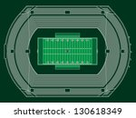 top view on stadium for... | Shutterstock .eps vector #130618349