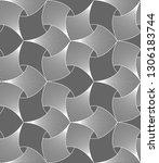 vector seamless texture. modern ... | Shutterstock .eps vector #1306183744