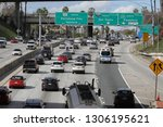 los angeles  ca   usa   2 5... | Shutterstock . vector #1306195621