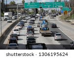 los angeles  ca   usa   2 5... | Shutterstock . vector #1306195624