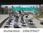 los angeles  ca   usa   2 5... | Shutterstock . vector #1306195627