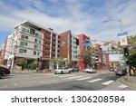 los angeles  ca   usa   2 5... | Shutterstock . vector #1306208584