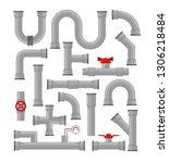 vector illustration set of...   Shutterstock .eps vector #1306218484