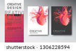 medical modern abstract covers... | Shutterstock .eps vector #1306228594