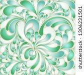silk texture fluid shapes ... | Shutterstock .eps vector #1306231501