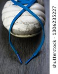 leather soccer football boot... | Shutterstock . vector #1306235227
