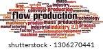 flow production word cloud... | Shutterstock .eps vector #1306270441