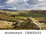 Wharfe Dale Viewed From Norber...