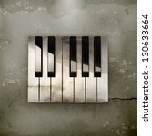 Octave  Piano Keys Old Style...