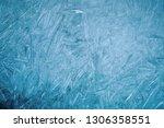 ice natural textured blue...   Shutterstock . vector #1306358551